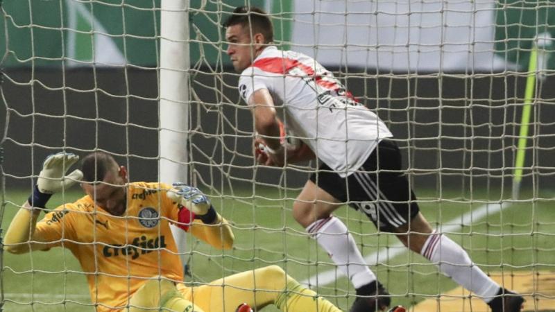 River ganó en Brasil pero no le alcanzó el resultado y se quedó afuera