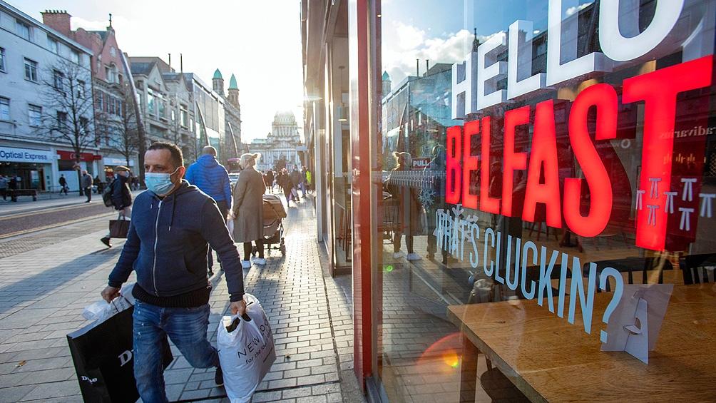 Irlanda puso en marcha un tercer confinamiento después de Navidad