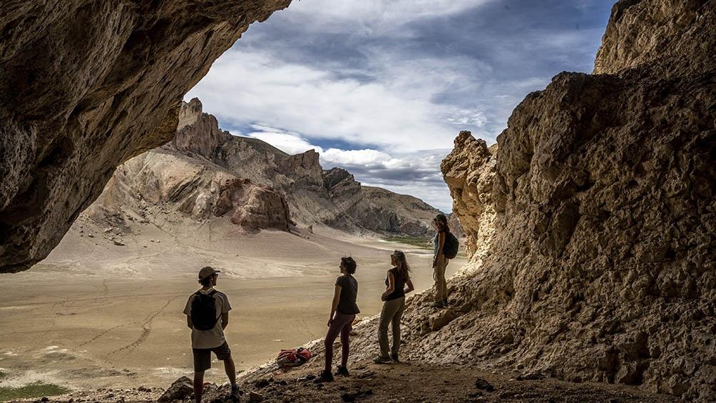La zona también pemrite hacer turismo arqueológico.
