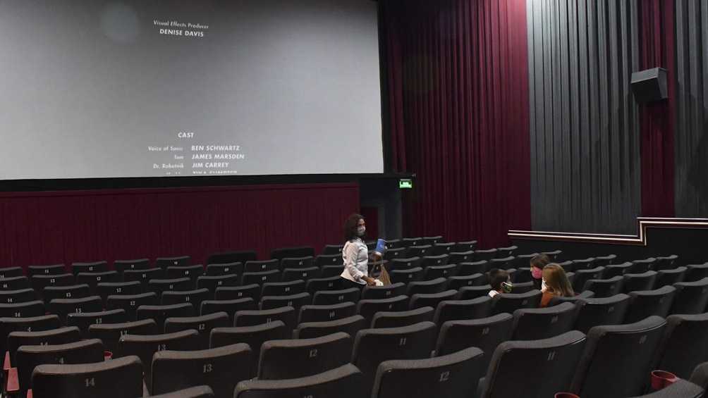 Vuelven los cines con protocolos.