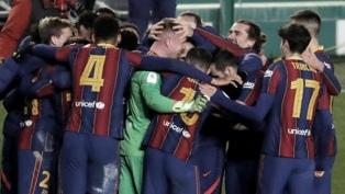 Barcelona, sin Messi, se clasificó por penales a la final de la Supercopa de España