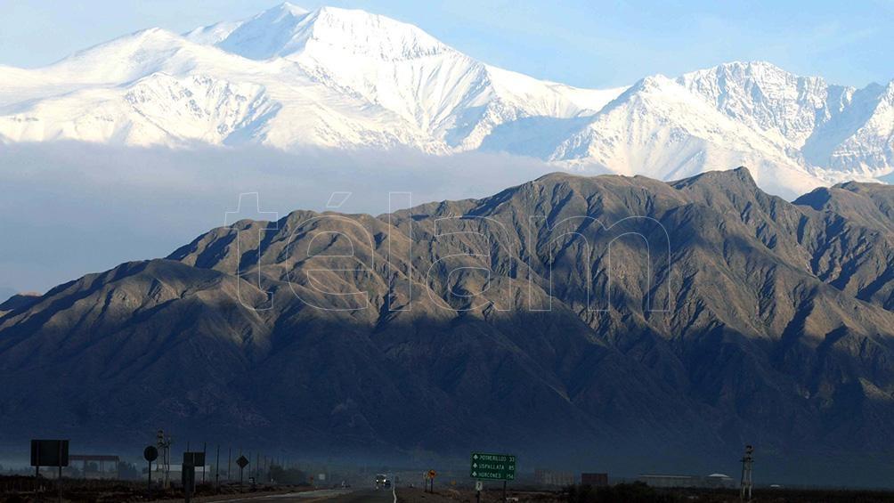 Mount Aconcagua, in Mendoza.