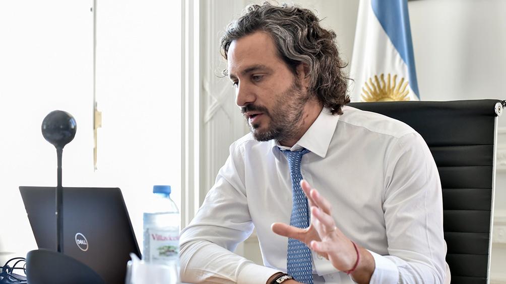"""Cafiero remarcó que está en marcha """"la campaña de vacunación más grande de la historia"""""""
