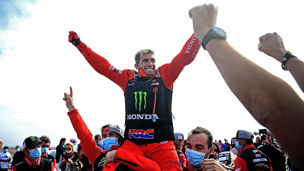 ARABIA SAUDITA: Kevin Benavides ganó el Rally Dakar 2021 en motos