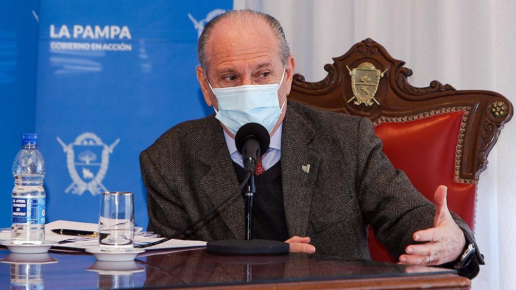 El ministro de Salud provincial se mostró este viernes preocupado por el nivel de ocupación de camas de terapia intensiva