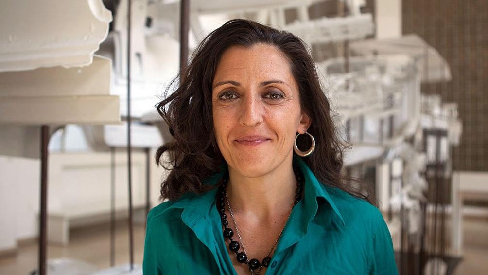 Directora del centro cultural Haroldo Conti, Lola Berthet.