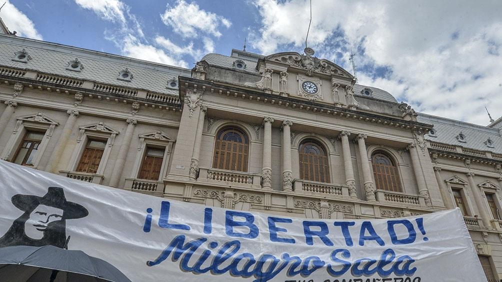 Marcha por la libertada de Milagro Sala.