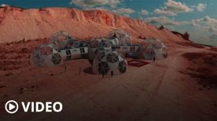Instalarán en La Rioja un simulador de la vida humana y el desarrollo de cultivos en Marte
