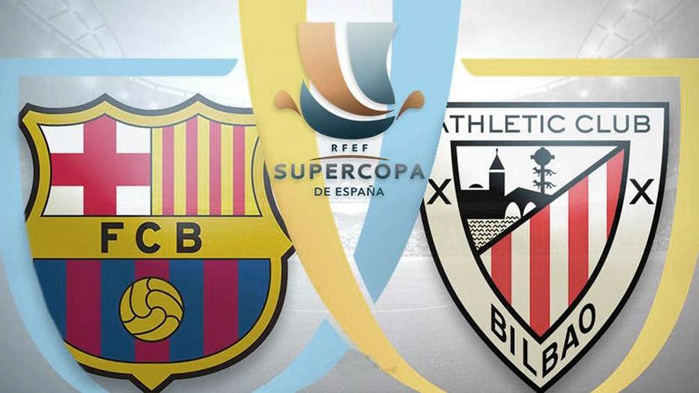 Con la vuelta de Messi, Barcelona va por la Supercopa ante el Athletic Bilbao