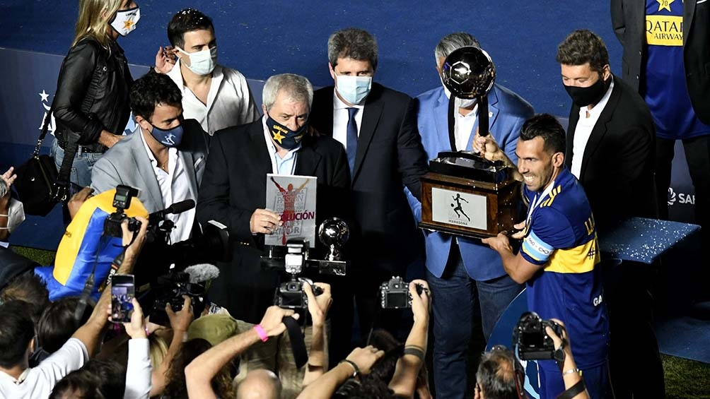 Boca campeón de la Copa Diego Maradona.