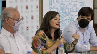 La ministra de Mujeres, Políticas de Género y Diversidad Sexual, Estela Díaz.