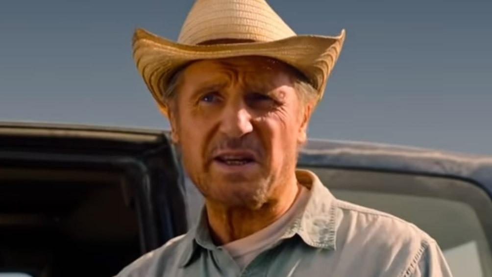 "Liam Neeson en ""The Marksman"""