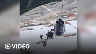 Rescataron a dos personas accidentadas y evacuan a otras dos en la Patagonia andina