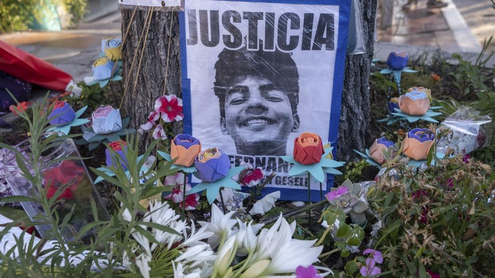 Actos y homenajes en Villa Gesell y Recoleta a un año del crimen de Fernando