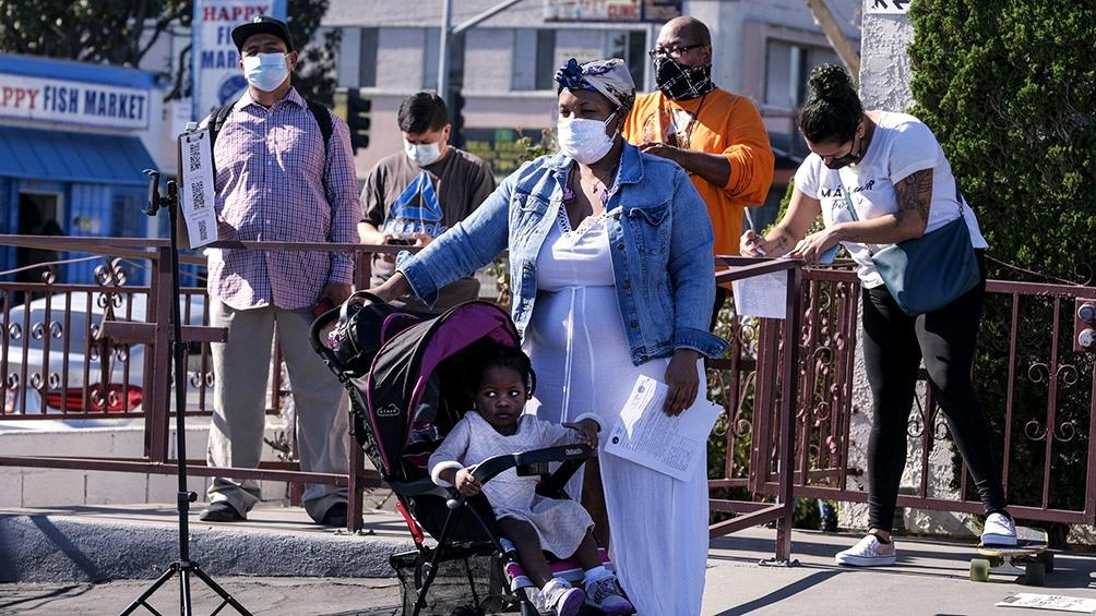 Más de 123.800 personas están internadas con coronavirus en Estados Unidos