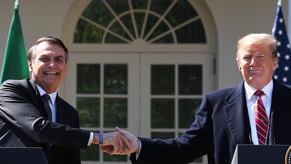 Trump respaldó a Bolsonaro después de que el Senado lo acusó por la gestión de la pandemia