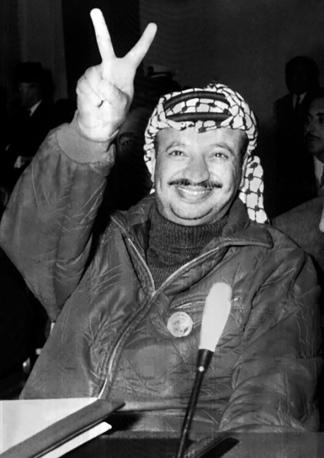 Arafat, hacia 1969, todavía lejos del sueño de la Palestina libre.