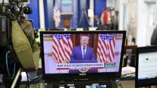Los medios de comunicación estadounidenses perdieron audiencia tras la salida de Trump