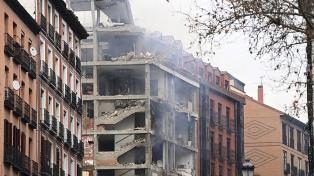Al menos dos muertos y varios heridos por una explosión en un edificio del centro de Madrid