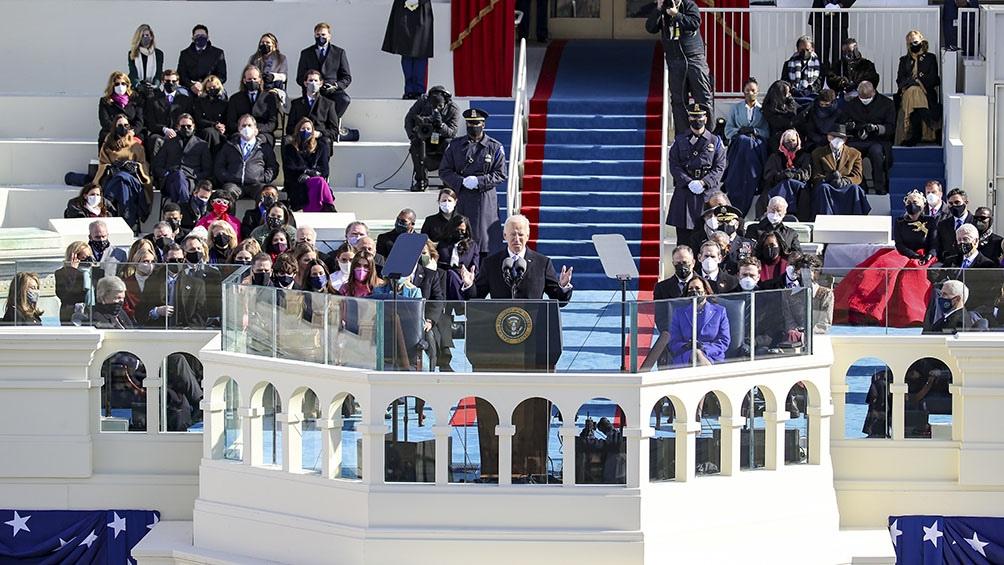 Biden es el 46° presidente estadounidense