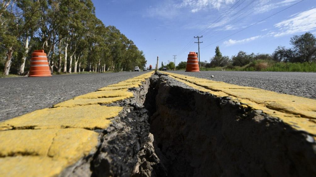 El sismo se registró el lunes en la provincia