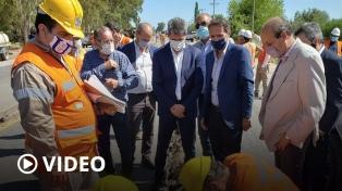 Katopodis viajó a San Juan para recorrer obras de reparación