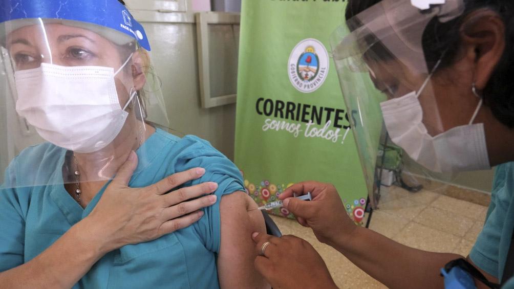 Corrientes recibió 3500 dosis para la segunda etapa de vacunación