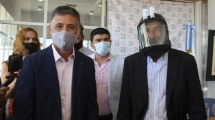 La Universidad de La Rioja presentó una máscara anti coronavirus