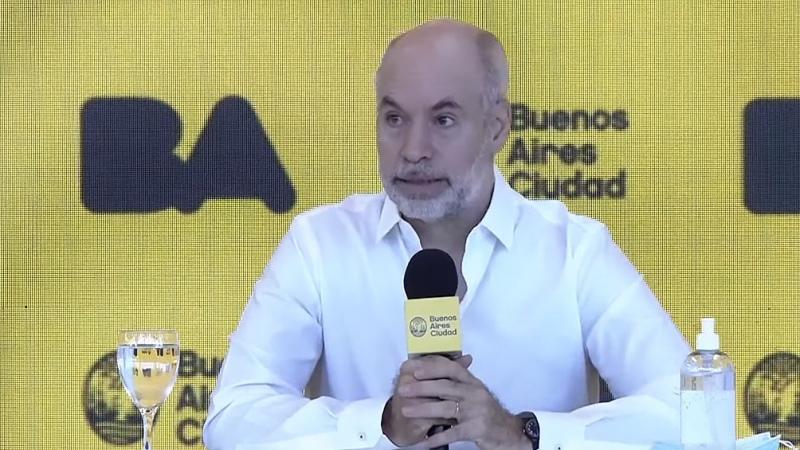 """Rodríguez Larreta sobre contagios en el AMBA: """"Compartimos la preocupación del Presidente"""""""