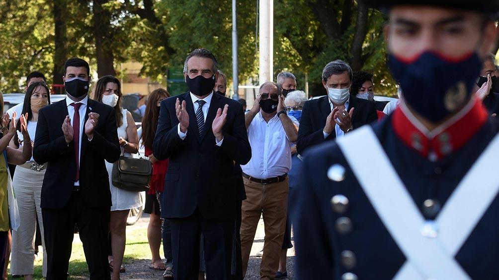 El ministro destacó el rol de las Fuerzas Armadas en pandemia.