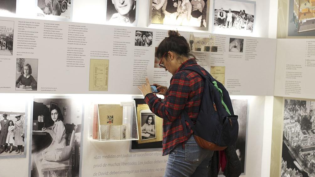Hay que conocer la vida de Ana Frank para no dejar que se repita el pasado.
