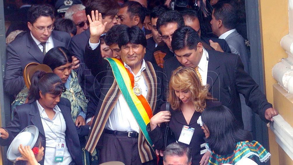 Morales inició el 22 de enero de 2006, la primera de sus tres presidencias