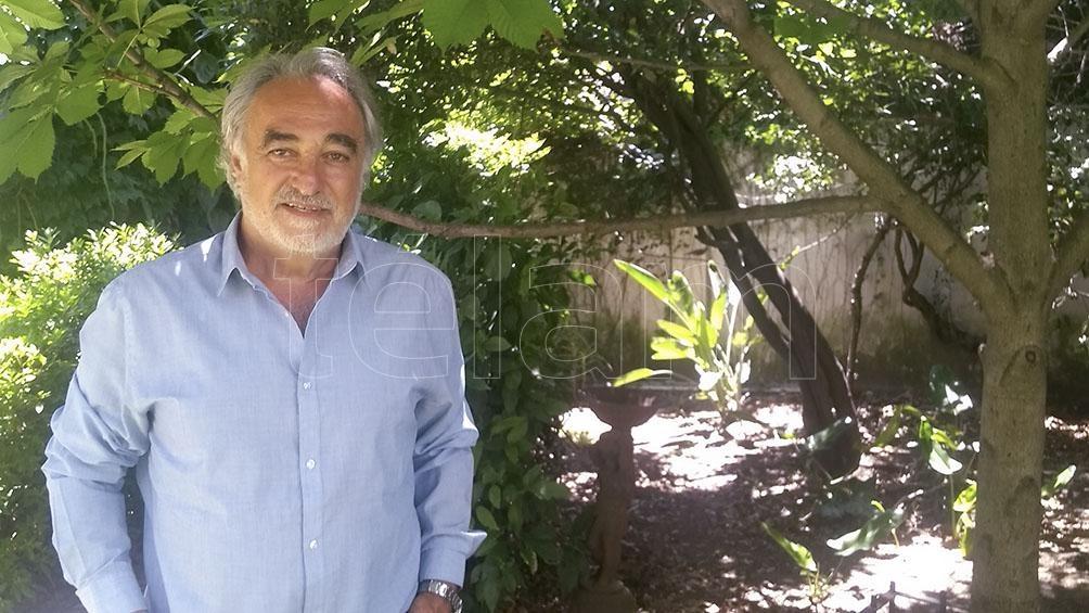 Héctor Shalom, director de la Casa Ana Frank Argentina.