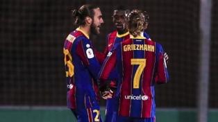 Barcelona venció en suplementario a Cornellá y paso a los octavos de final