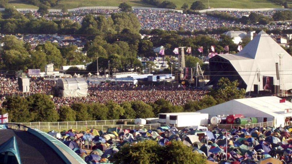 El Festival de Glastonbury, en Gran Bretaña