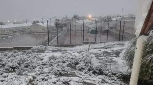 Las redes se hicieron eco de la nevada en la Puna y en la Quebrada de Humahuaca