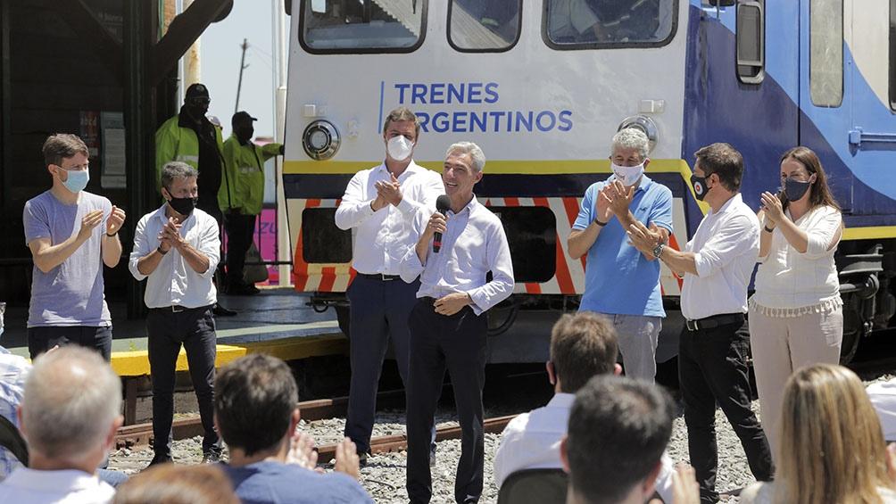 El servicio de tren a la localidad de Pinamar volverá a funcionar desde el próximo lunes 25 con una frecuencia diaria.