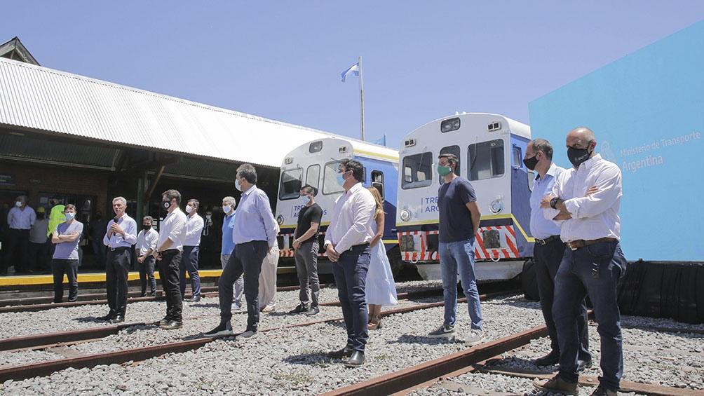 El servicio volvió a funcionar el 25 de enero y fue anunciado en un acto en Pinamar, por el gobernador bonaerense