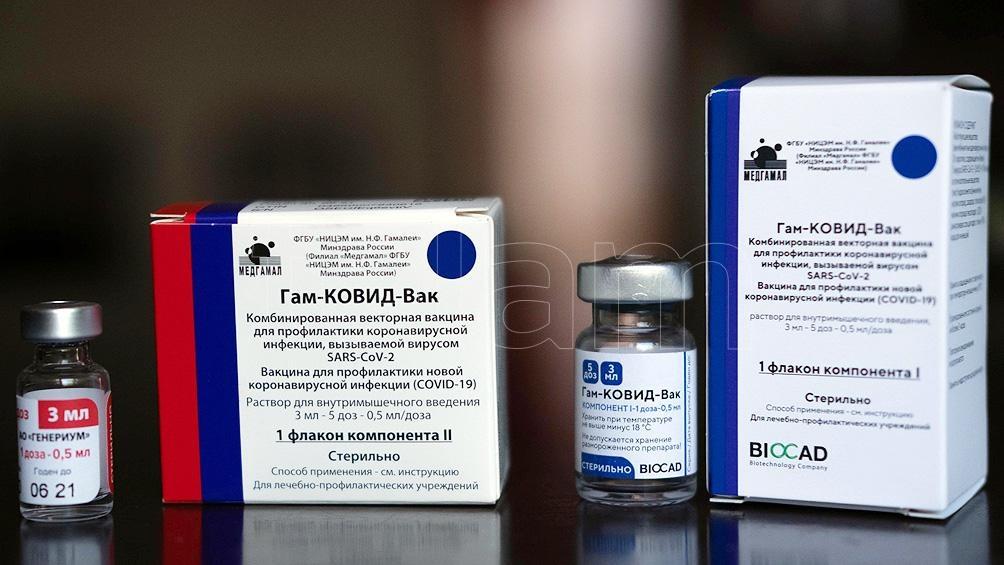 Hasta el momento, la  vacuna Sputnik V fue aprobada en más de 15 países.