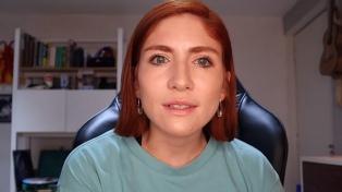 La influencer Nath Campos denunció al youtuber Rix por abuso sexual