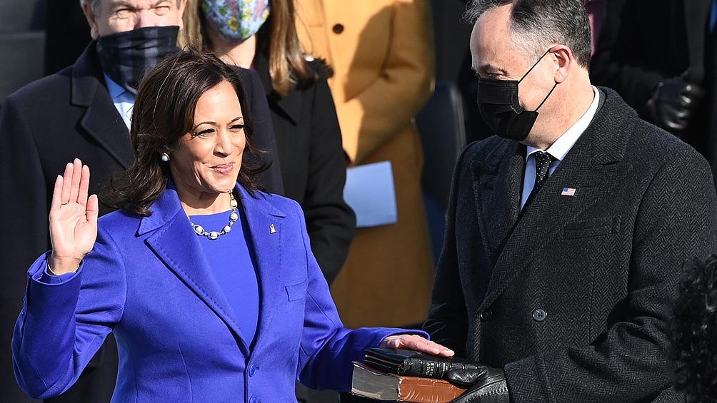 Harris Una figura en ascenso, vicepresidenta, voto del desempate en el Senado y una especialista en temas penales.