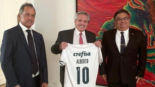 Alberto Fernández recibió a Viana Rocha, hombre clave del Gobierno de Jair Bolsonaro