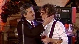 Con un video de Spinetta, Fernández conmemoró el Día del Músico