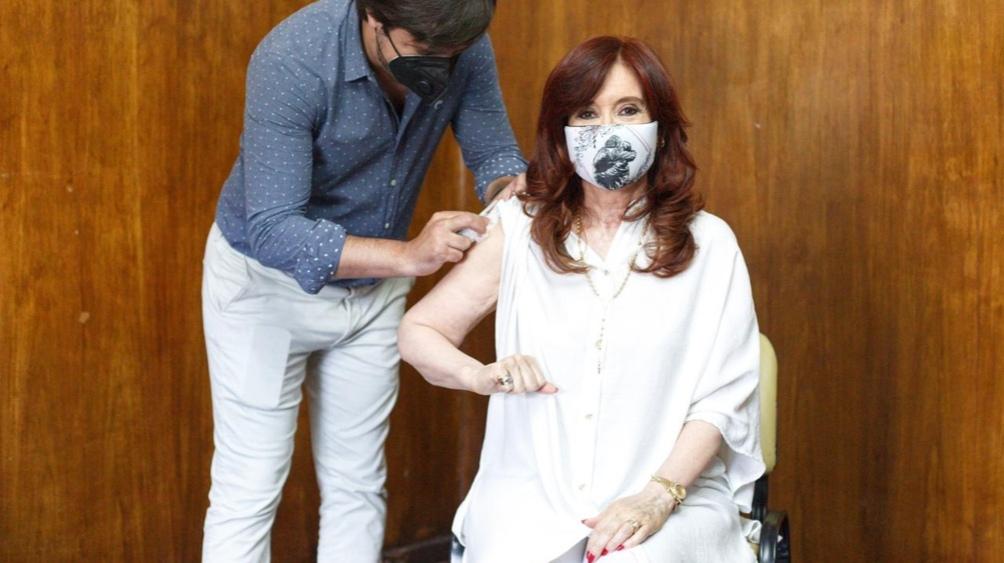 La vicepresidenta de la Nación en el hospital público más importante de Avellaneda.