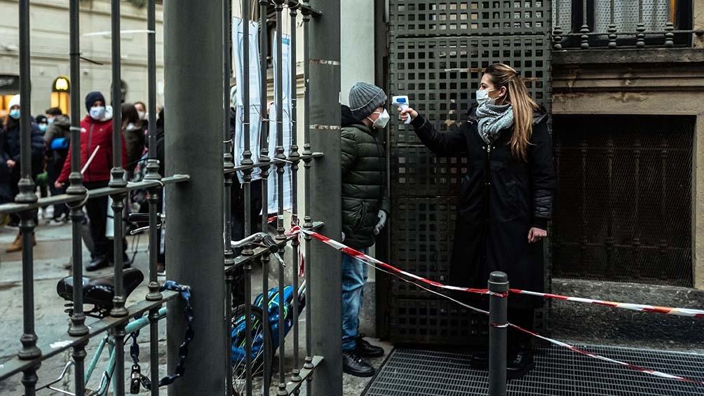 En las últimas semanas bajó notablemente la cantidad de contagios en Italia.