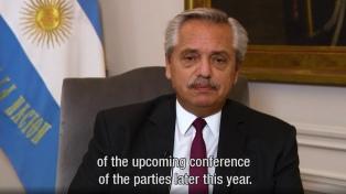 Presidente Fernández participa da Cúpula de Adaptação Climática
