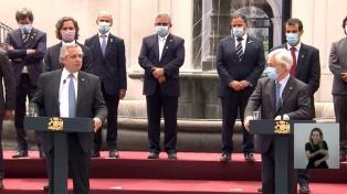 Piñera transmitió el respaldo por Malvinas y abogó por la reanudación del diálogo por la soberanía