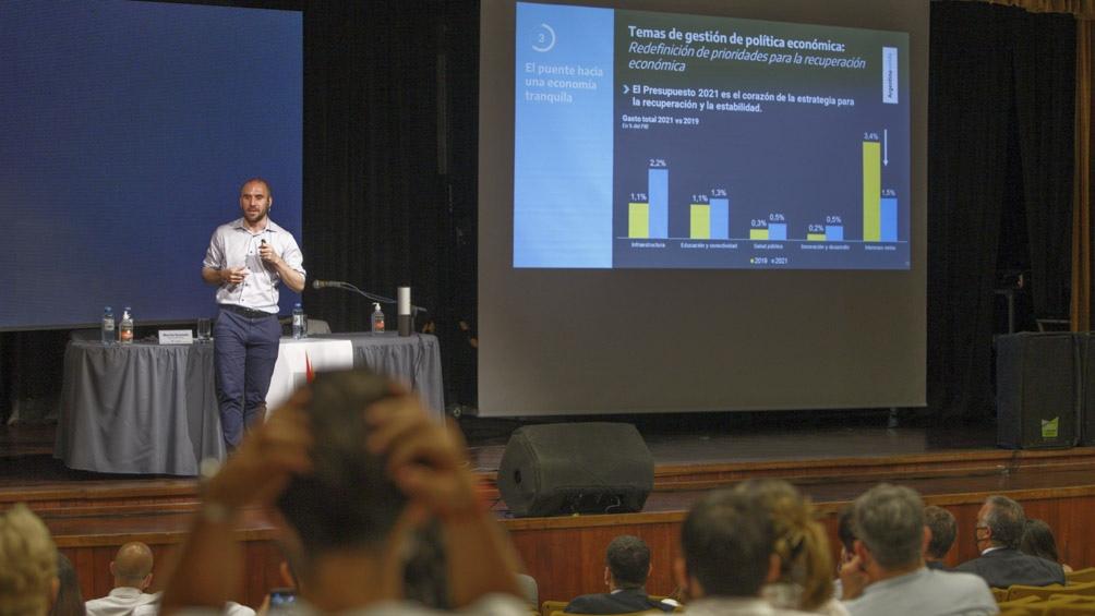 Guzmán brindó una charla en la Universidad Nacional de La Pampa.