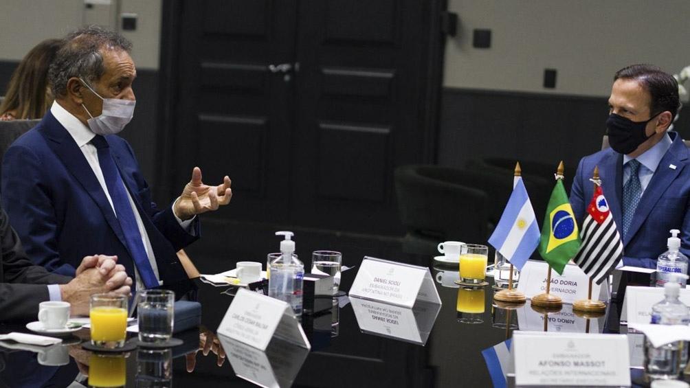 La reunión con Doria se llevó a cabo en el Palacio de los Bandeirantes.