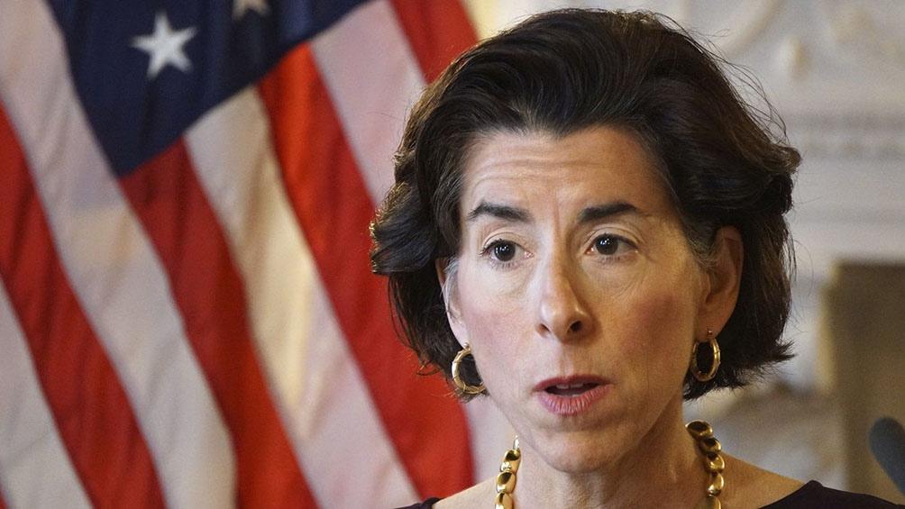 Secretaria de Comercio de Estados Unidos, Gina Raimondo